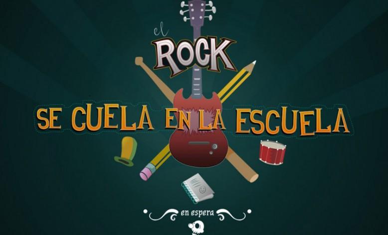 El Rock se cuela en la escuela