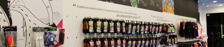 Vinilos decorativos en todas las secciones de la tienda Soloporteros