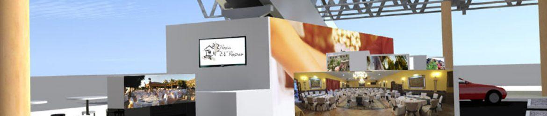 Stand de Finca el Recreo para feria Expoboda 2016