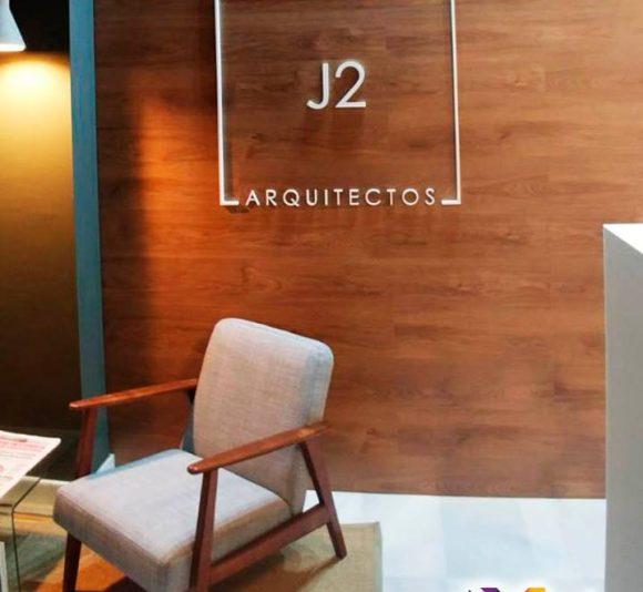 Placas metacrilato y PVC fresado J2 Arquitectos