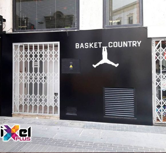 Cambio de fachada Basket Country