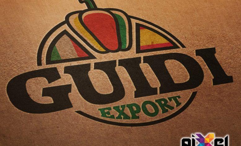 Diseño de logo y confección catálogos Guidi Export