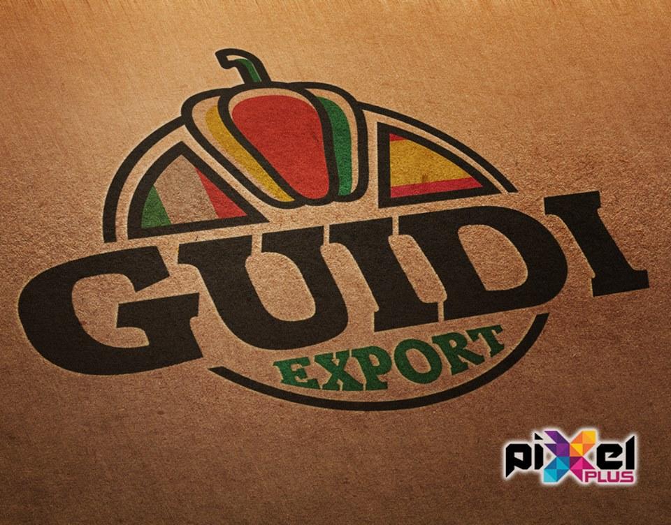Diseño de logo y confección catálogos Guidi Export por Pixel Plus