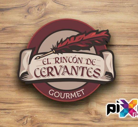 """Diseño de Logotipo y rotulación """"Bar El Rincón de Cervantes"""""""