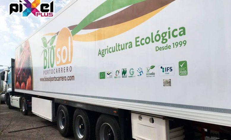 Rotulación Biosol Portocarrero