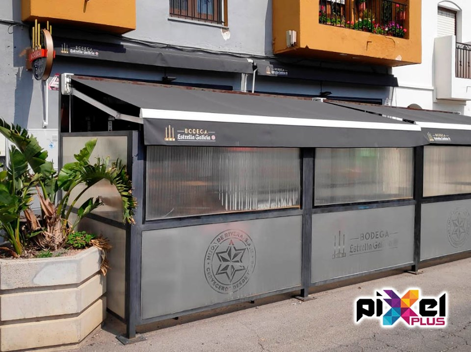 Cambio de imagen bodega Restaurante Sacacorchos - Pixel Plus
