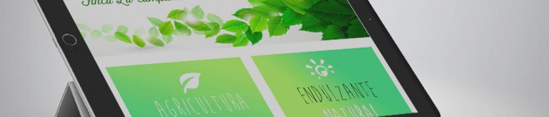 """Página de inicio de """"Stevia La Campana, Diseñada por Pixel Plus Estudio Gráfico"""""""
