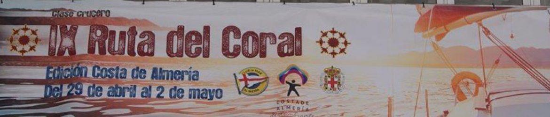Diseño e impresión de lona Gran formato para la IX Edición de la Ruta del Coral.