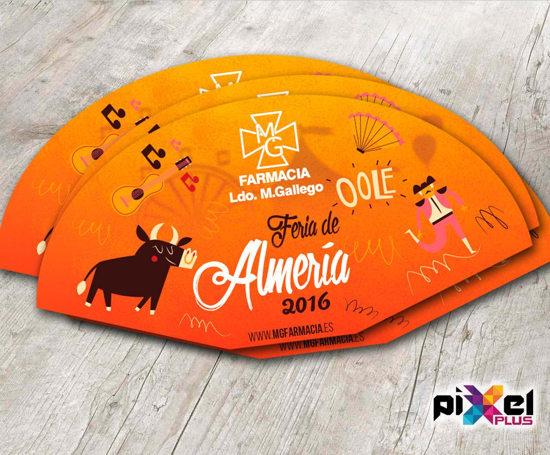 """Portfolio de """"Feria de Almería 2016, Diseño Gráfico e Impresión por Pixel Plus Estudio Gráfico"""""""
