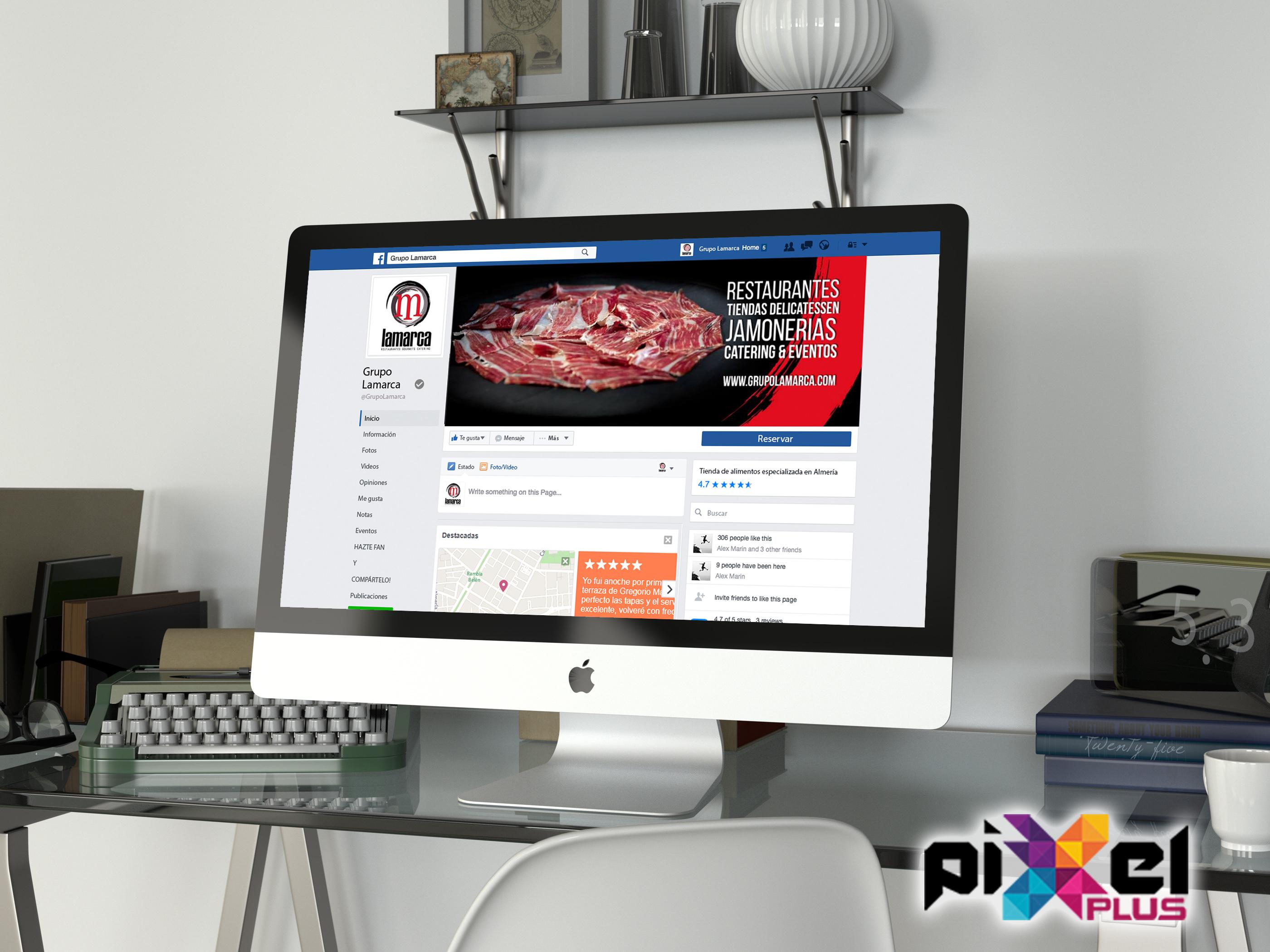 """Portfolio de """";Lamarca, Marketing por Pixel Plus Estudio Gráfico"""""""