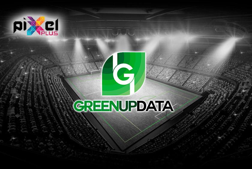 """Portfolio de """"Greenup Data, Diseño Gráfico y Web por Pixel Plus Estudio Gráfico"""""""