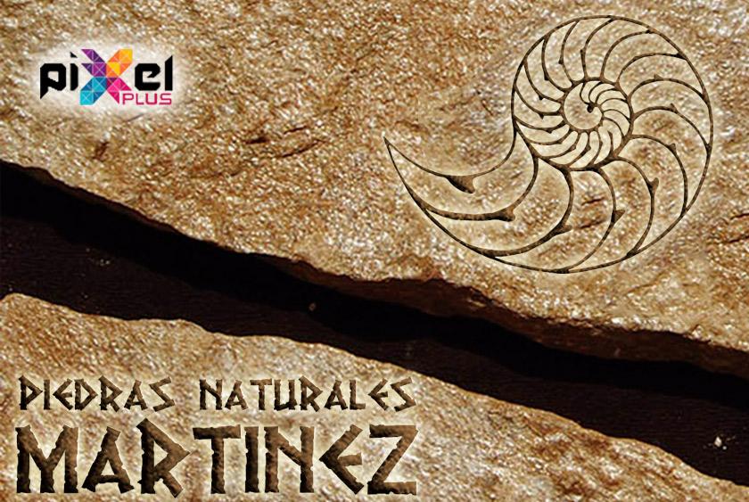 """Portfolio de """"Piedras Naturales Martínez, Diseño Gráfico y Web por Pixel Plus Estudio Gráfico"""""""