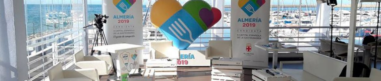 II Foro de ideas Almería 2019, Capital Española de la Gastronomía | Pixel Plus Estudio Gráfico