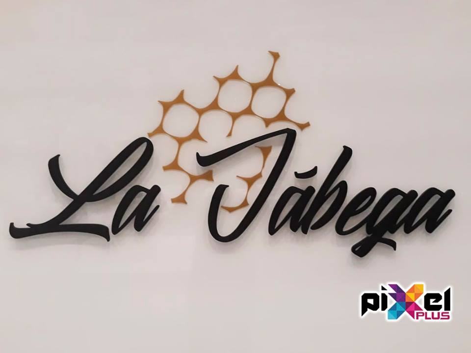 Rotulación finca eventos y bodas La Jábega por Pixel Plus