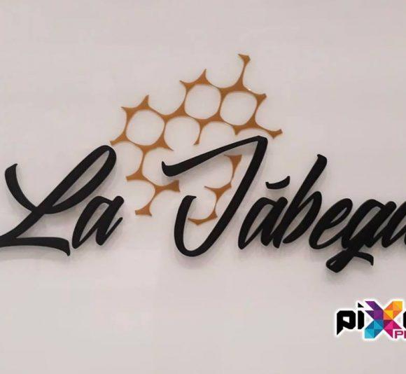 Rotulación finca de eventos y bodas La Jábega Almería