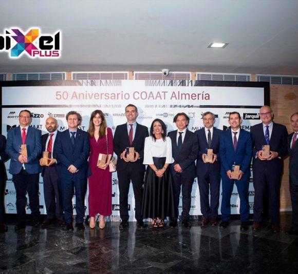 Fiesta aniversario 50 años del COAAT