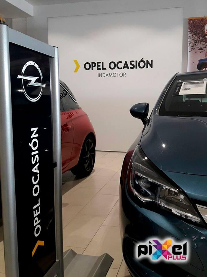 """""""Indamotor Concesionario Opel, Diseño y montaje por Pixel Plus"""""""