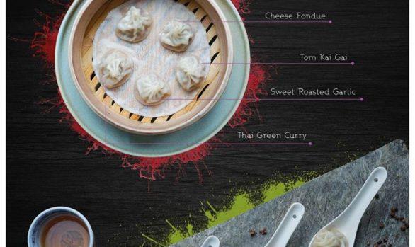 Diseño de Catálogo del Restaurante Yum Dim Sum en Marbella