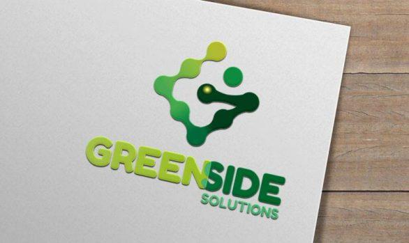 Diseño de tarjetas, contenedores y vehículos Greenside Solutions